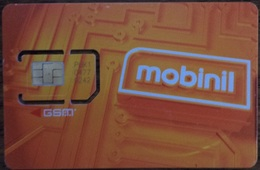 Mobinil GSM SIM Old Logo Egypt (Egypte) (Egitto) (Ägypten) (Egipto) (Egypten) Africa - Egypt