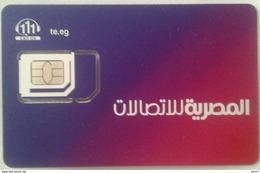 GSM SIM Card WE (Telecom Egypt) (Egypte) (Egitto) (Ägypten) (Egipto) (Egypten) - Egypt