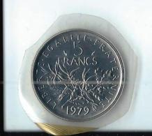 5 FRANCS SEMEUSE 1979 - ETAT FDC - SCELLEE - GAD 771 - France