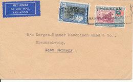 Malaya Cover Sent Air Mail To Germany Kuala Lumpur 18-3-1963 - Federation Of Malaya
