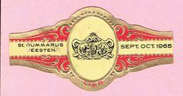 Sigarenband - St.Gummarusfeesten - Lier 1965 - Gevelsteen Het Beloofde Land - Cigar Bands