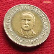 Ecuador 500 Sucres 1997 KM# 102 Equador Equateur - Ecuador