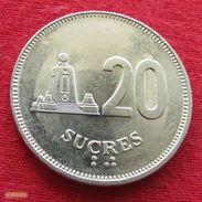 Ecuador 20 Sucres 1991 KM# 94.2  Equador Equateur - Ecuador