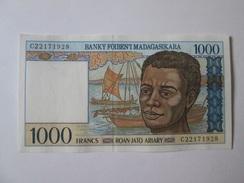 Madagascar 1000 Francs 1994-1995 Banknote UNC - Madagascar