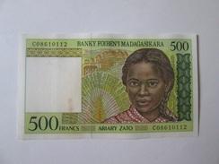 Madagascar 500 Francs 1994-1995 Banknote - Madagascar
