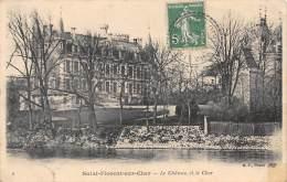 18 - SAINT-FLORENT-sur-CHER - Le Château Et Le Cher - Saint-Florent-sur-Cher