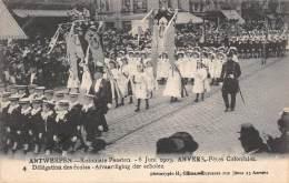 ANTWERPEN - Koloniale Feesten - 6 Juni 1909 - Afvaardiging Der Scholen - Antwerpen