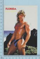 PIN UPS BOYS - FLORIDA ON THE BEACH -  SEXY MALE - MODEL GAY INTEREST PHOTO Future World Production - Pin-Ups