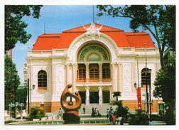 Viet-Nam--SAIGON  HOCHIMINH CITY   -- Théâtre  De La Ville (petite Animation) - Vietnam