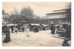 (18405-10) Troyes - La Place Du Marché - Troyes