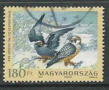 HongarijeYv 4483 Jaar 2012, Roofvogels, Gestempeld, Zie Scan - Oblitérés