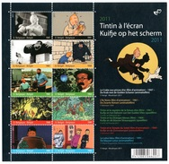 BELGIUM 2011 Youth Philately/The Adventure Of Tintin: Sheet Of 10 Stamps UM/MNH - Blocs 1962-....