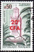Réunion Obl. N° 351 - Mosquée De Tlemcen En Algérie - Réunion (1852-1975)