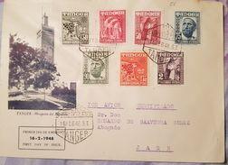 Carta. Tánger. - Marruecos Español