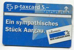 TK 31540 SWITZERLAND - L&G Neue Aargauer Bank - Schweiz