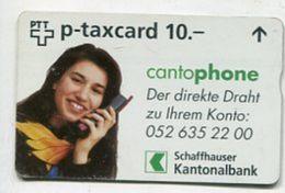 TK 31541 SWITZERLAND - L&G Schaffhauser Kantonalbank - Schweiz