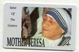 TK 31546 Prepaid - Mother Teresa - Unknown Origin