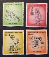 Netherland Antilles  - MNH** -  1961 -  # B51/54 - Curacao, Netherlands Antilles, Aruba