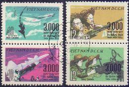 Used Vietnam 1968, 3000th Airplane Attack 2x2V [:] ( CTO). - Vietnam