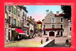 58-CPSM NEVERS - PLACE MOSSE ET RUE DU LOIRE - Nevers