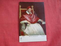 PAPA INNOCENZO X - 01 - PAPI - POPE - PAPST - VELASQUEZ  - Ref 2795 - Popes