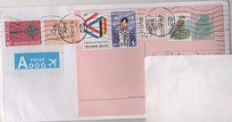 BELGIQUE ENTIER POSTAL MOINEAU DOMESTIQUE, COMPLEMENT D AFFRANCHISSEMENT POUR LA FRANCE - VOIR LE SCANNER - Stamped Stationery