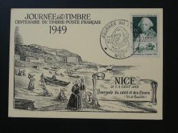 Carte Postcard Journée Du Timbre Nice 1949 - Storia Postale