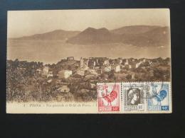 Carte Postale Postcard Piana Corse 1950 - Lettres & Documents