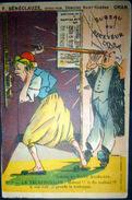 ALGERIE MAROC LE TELEPHONISTE PUBLICITE SENECLAUZE VITICULTEUR A ORAN - Altre Illustrazioni