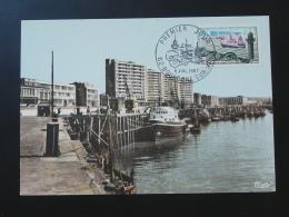 Carte Maximum Card Bateau De Pêche Fishing Ship Boulogne Sur Mer 62 Pas De Calais 1967 - Bateaux