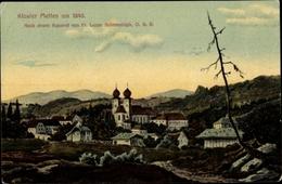 Artiste Cp Schrandolph, F. L., Metten In Der Region Donau Wald Niederbayern, Kloster Mit Umgebung - Künstlerkarten