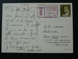 Carte Postale Pour La France Taxée Au Départ Espagne Spain 1981 - 1931-Aujourd'hui: II. République - ....Juan Carlos I