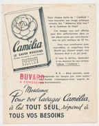 """Buvard 15.5 X 19.5 Produit Du Savon LA TOUR Le Savon Camélia  RTR Image Des """"Mémoires D'un âne"""" De La Comtesse De Ségur - Perfume & Beauty"""