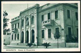 Misurata, Cassa Di Risparmio, Libya - Libye