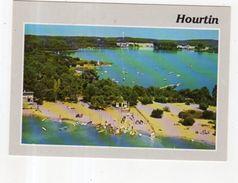 Dept 33,Gironde,Cpm Hourtin,Vue Aérienne,Pointe De Piqueyrot,sa Plage Et Le C.F.M. Au Fond - Other Municipalities