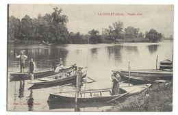 CPA - LE GOULET, PLAISIRS D' ETE - Eure 27 - Animée, Barques, Pêcheurs à La Ligne.. - Ecrite - Photo. A. Lavergne Vernon - Other Municipalities