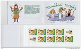 Carnet 2002 De 8 Timbres + 2 Coupons YT C 311 Saint-Nicolas Hotte / Booklet Michel MH 104 (335) - República Checa