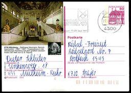 83722) BRD - P 138 - R5/68 - OO Gestempelt - 8700 Würzburg, Treppenhaus In Der Residenz - [7] West-Duitsland