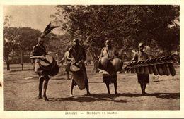 ZAMBEZE TAMBOURS ET SILIMBA - Zambie