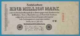 DEUTSCHES REICH 1.000.000 Mark 25.07.1923 Serial# 8W 123864 P# 94 Reichsbank - [ 3] 1918-1933 : Weimar Republic