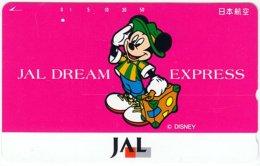 JAPAN G-758 Magnetic NTT [110-161403] - Walt Disney, Mouse Family - Used - Japan