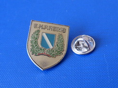 Pin's Police ENP Reims - école Mationale De Police - Blason écusson (KB64) - Police