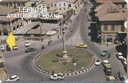 Telefonkarte Aus Nordzypern -Lefkosa (Nikosia) Atatürk Meydani- - Cyprus