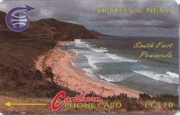 Telefonkarte Aus St. Kitts &  Nevis -3CSK- - St. Kitts & Nevis