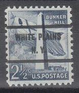 USA Precancel Vorausentwertung Preo, Bureau New York, White Plains 1034-71 - Vereinigte Staaten