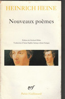 "Heinrich Heine NOUVEAUX POEMES Edit Poesie Gallimard ""GROUPER POUR REDUIRE LE PORT"" (bib8) - Poésie"