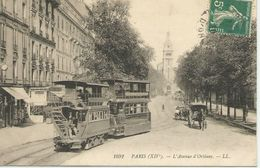 Paris (XIVè) - L'avenue D'Orléans - Arrondissement: 14