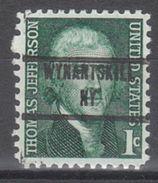 USA Precancel Vorausentwertung Preo, Locals New York, Wyantskill 853 - Vereinigte Staaten