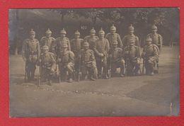 Elsenborn --  Carte Photo --  Soldats Allemands  -- 8/9/1915 - Elsenborn (Kamp)
