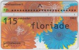 NETHERLANDS A-468 Hologram Telecom - Painting, Plant, Flower - 223E - Used - Netherlands